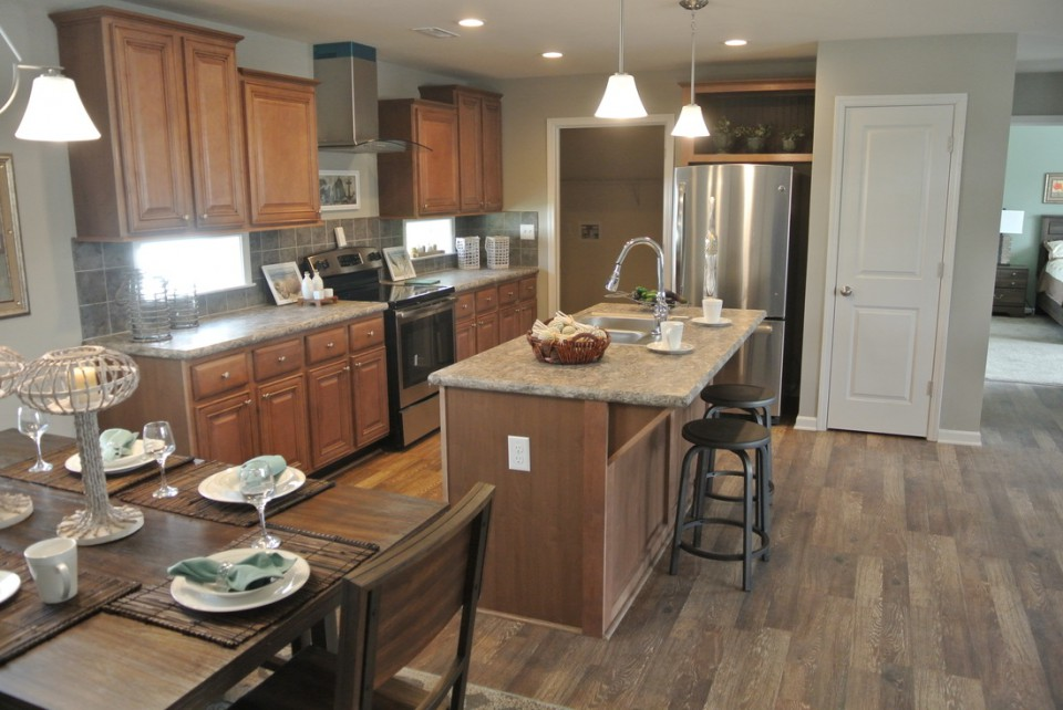 Kitchen Of The Noble Modular Home By Nationwide Homes