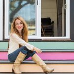 Kim Lewis Partners with Cavco on Tiny Home for Dwell